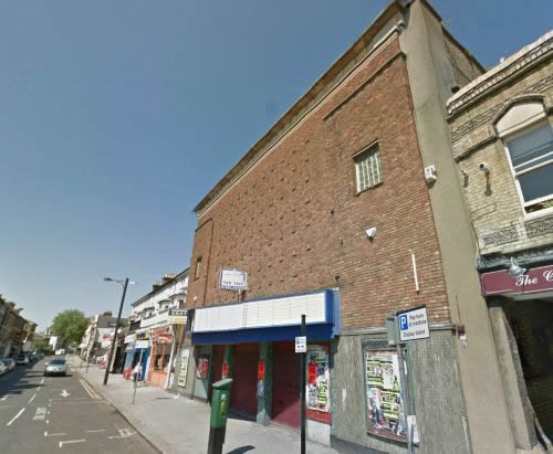 A Google StreetView Image of the New Empire Theatre, Southend - Click to Interact.