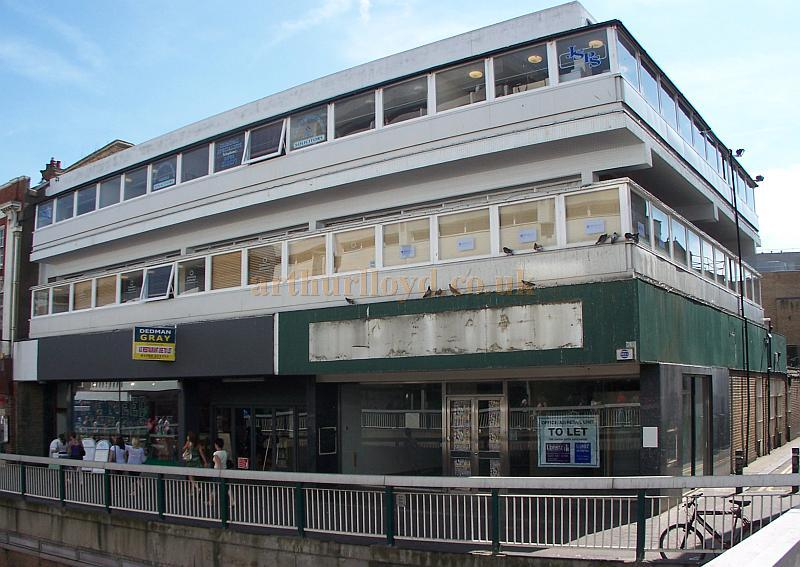 The Site of the Hippodrome Theatre, Southend-on-Sea in August 2009 - Photo M.L.