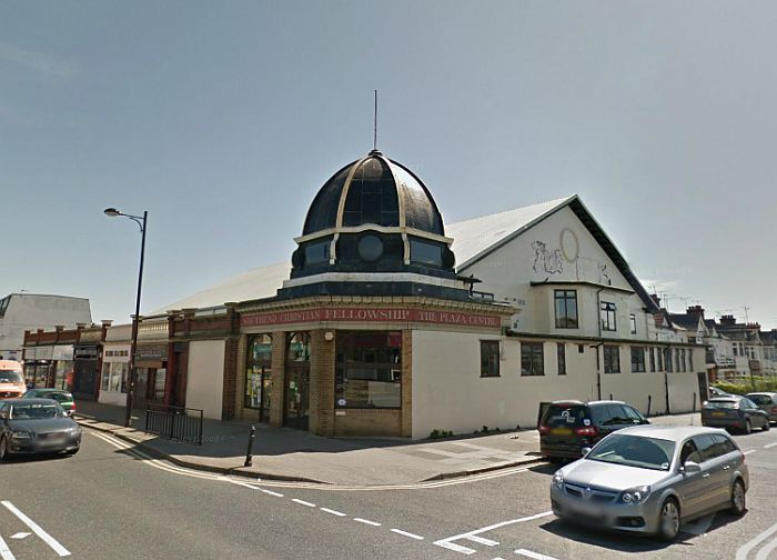 A Google StreetView Image of the former Plaza Theatre, Southend - Click to Interact