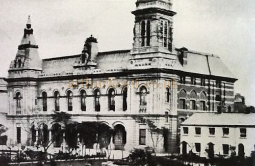 An early image of the Cambridge Hall, Southport - Courtesy the Crosby Archive.