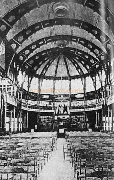 The Southport Pavilion Concert Hall From The Stage - Courtesy The Crosby Archive.