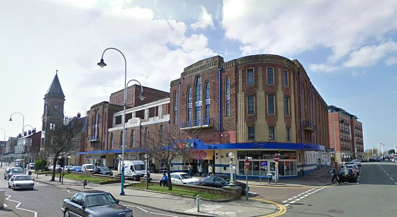 A Google StreetView Image of the Garrick Theatre, Southport - Click to Interact