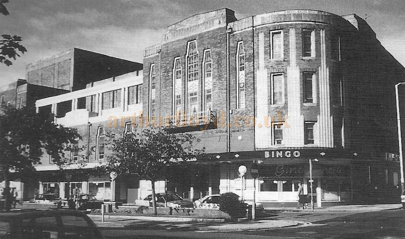 The Garrick Theatre, Southport whilst in Bingo use - Courtesy the Crosby Archive.