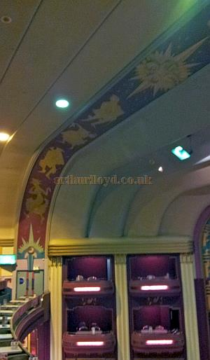 The Auditorium Boxes and Tiara Band at the Garrick Theatre, Southport whilst in Bingo use in October 2013 - Courtesy George Richmond.