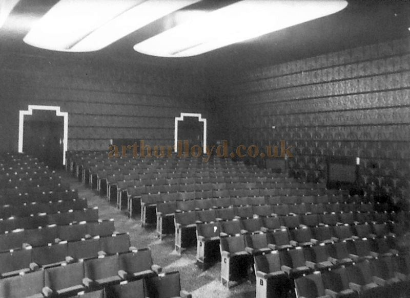 The Auditorium of the Little Theatre, Southport - Courtesy George Richmond and the Crosby Archive.