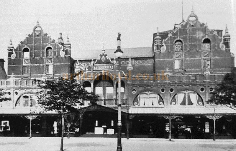 An early photograph of the Opera House, Southport - Courtesy The Crosby Archive