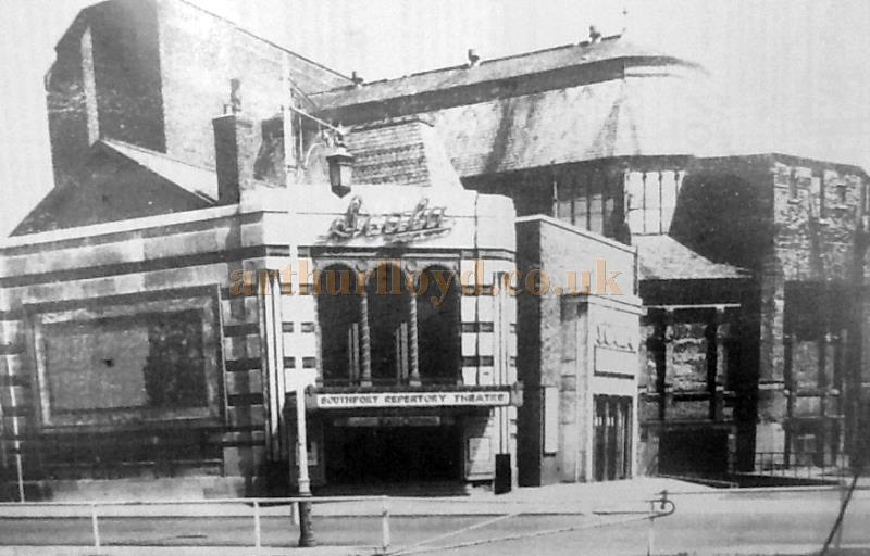 The former Southport Pavilion as the Scala Theatre - Courtesy The Crosby Archive.
