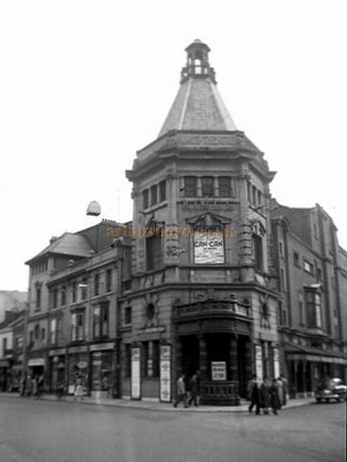 The King's Theatre, Southsea during the run of 'Can-Can' in August 1956 - Courtesy Gerry Atkins