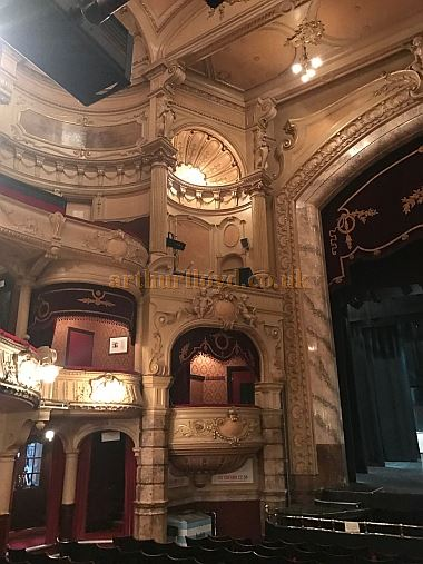 The Auditorium of the King's Theatre, Southsea in April 2017 - Courtesy Michael Shaw.