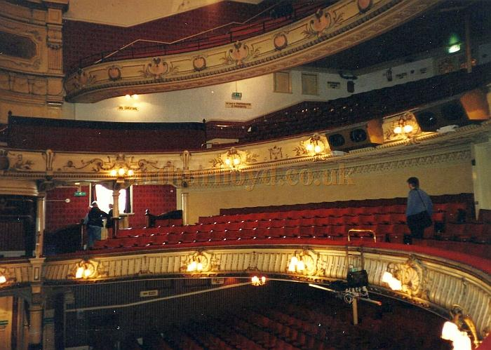 The Auditorium of the King's Theatre, Southsea in 2000 - Courtesy David Garratt.