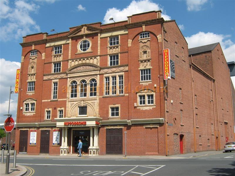 The St. Helens Hippodrome in March 2010 - Courtesy K.R.