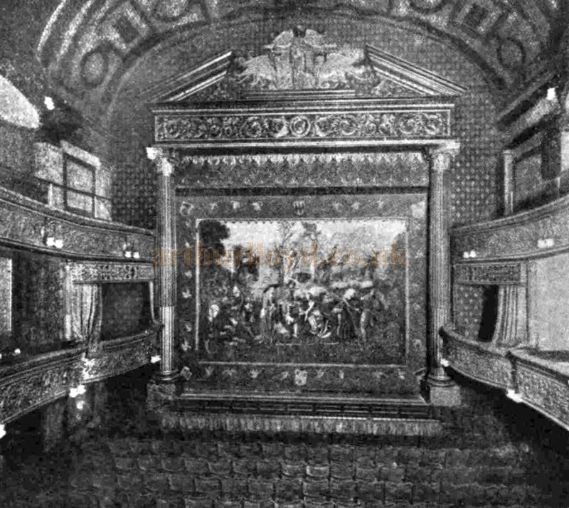 The Interior of the St. James's Theatre in 1902 - From the ILN, February 5th, 1955.