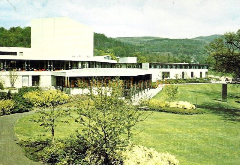 A Photograph of the MacRobert Arts Centre, Stirling when newly opened - Courtesy Graeme Smith.