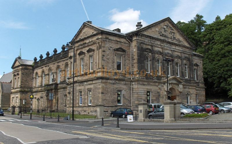 A Photograph of the Albert Halls, Stirling, courtesy Andrew Smith.