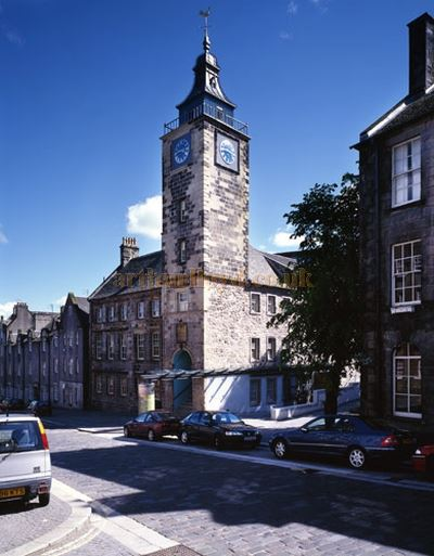 A Photograph of Stirling`s Tolbooth - Courtesy Richard Murphy Architects.