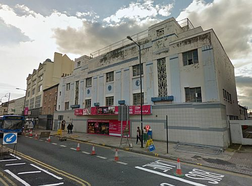 A Google StreetView Image of the Globe Theatre, Stockton-on-Tees - Click to Interact.