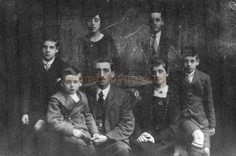 A Photograph of Walter and Florence Batty and Family - Courtesy Anthony Dawson.