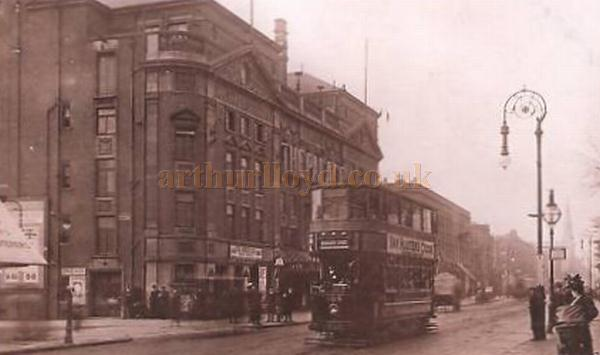 The Palace Theatre, Stoke Newington, formerly the Alexandra Theatre - Circa 1906 - 1909