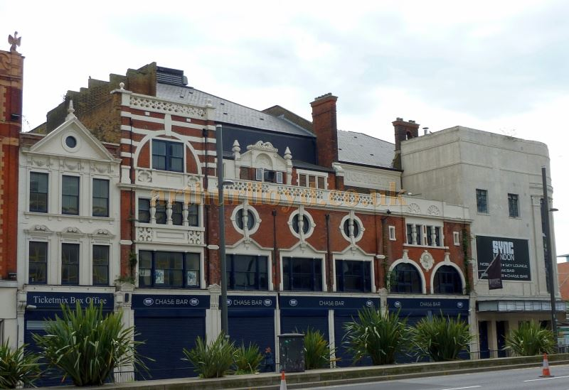 The former Borough Theatre, Stratford East in September 2014 - Courtesy Paul Bland
