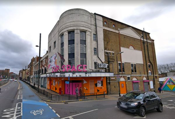 A Google StreetView Image of the former Borough Theatre, Stratford East - Click to Interact.