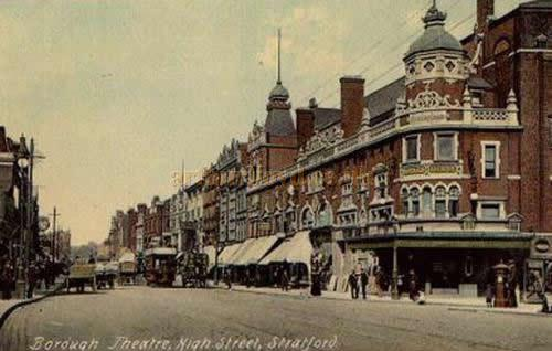The Borough Theatre, Stratford East - From an early postcard