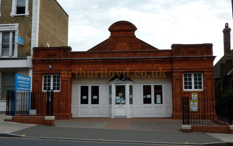 The former Grove Picture House, Stratford East in September 2014 - Courtesy Paul Bland