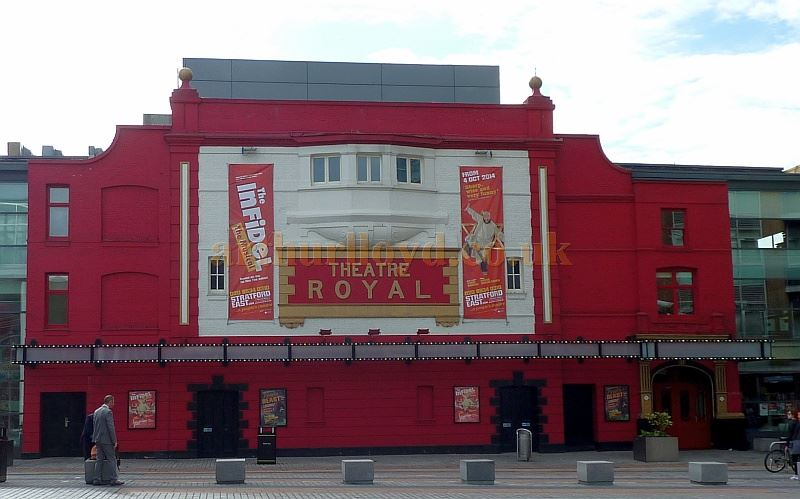 The Theatre Royal, Stratford East in September 2014 - Courtesy Paul Bland