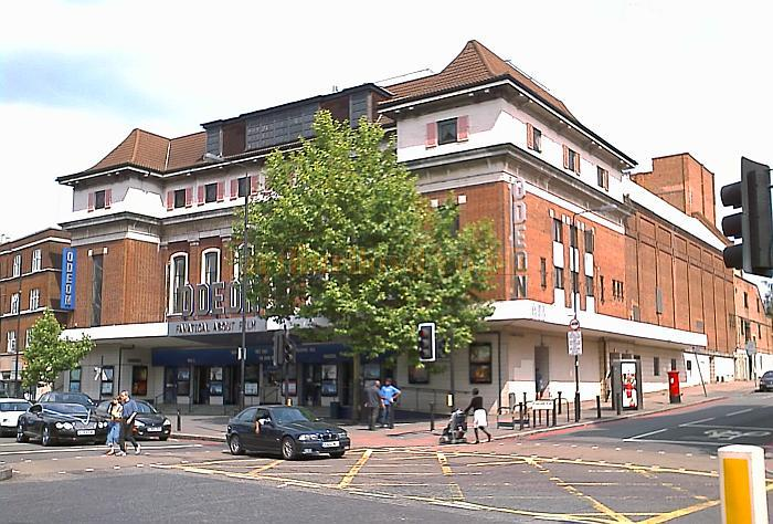 The former Astoria Theatre, Streatham, now the Odeon, in a photograph take in July 2008 - Photo M.L.