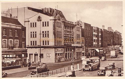 The Streatham Hill Theatre, from a F. Frith & Co. Ltd. Postcard dated 12th February 1954