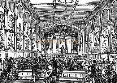 Surrey Music Hall in 1854 - From a handbill