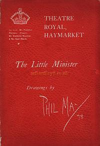 Souvenir Programme for J. M. Barrie's 'The Little Minister' which opened at the Theatre Royal Haymarket in 1897.