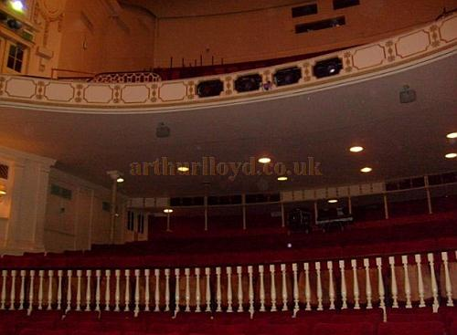 The auditorium of the Theatre Royal, Windsor in November 2010 - Courtesy Charlie Gracie.