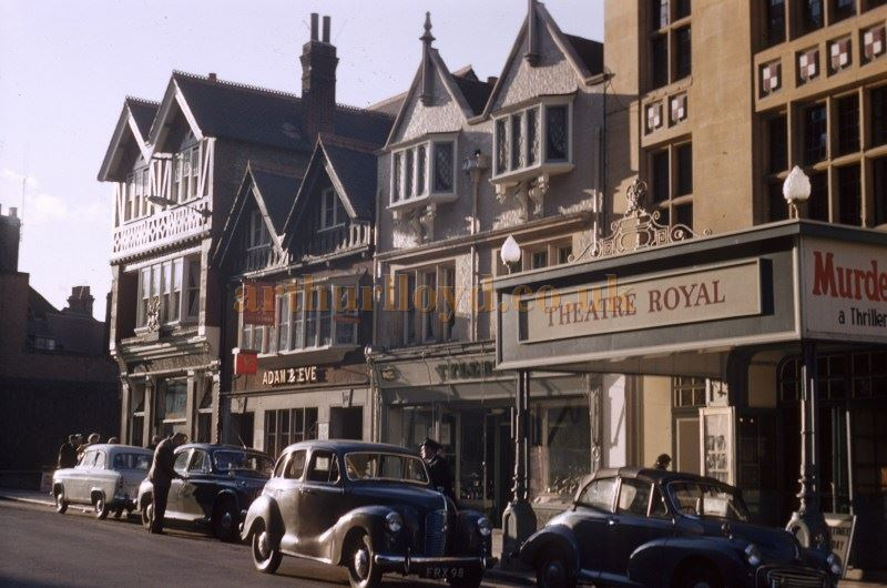 The Theatre Royal, Windsor in 1961 - Courtesy Michael Mifkovic