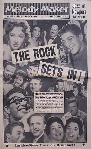 Melody Maker for the 8th of March 1958