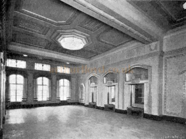 The Entrance Foyer of the Trocadero, Elephant & Castle - From The Bioscope, 17th December 1930.