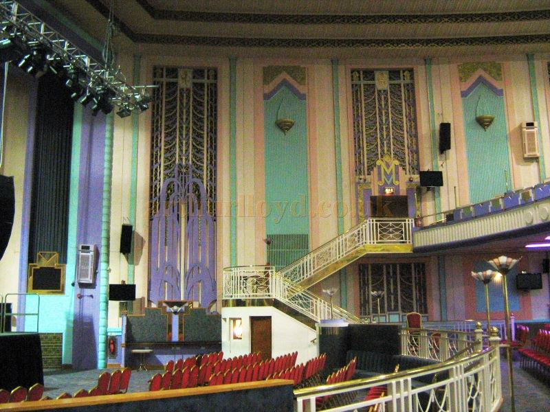 The Auditorium of the Troxy Cinema in November 2010 - Courtesy Charles Jenkins.