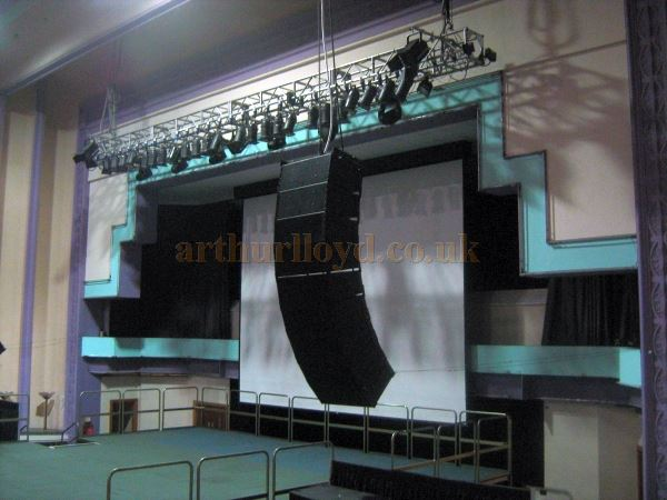 The Stage of the Troxy Cinema in November 2010 - Courtesy Charles Jenkins.