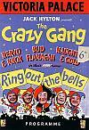 A Programme for the Crazy Gang at the Victoria Palace Theatre