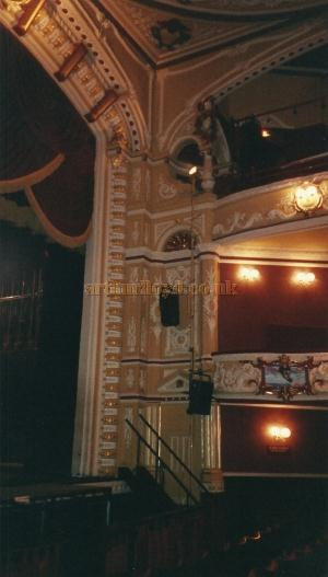 The Proscenium of the Theatre Royal and Opera House, Wakefield in 2000 - Courtesy David Garratt.