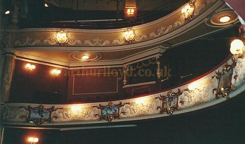 The auditorium of the Theatre Royal and Opera House, Wakefield in 2000 - Courtesy David Garratt.