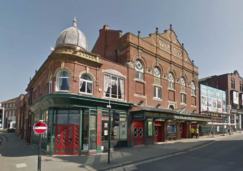 A Google Street View of the Theatre Royal and Opera House, Wakefield - Click to Interact