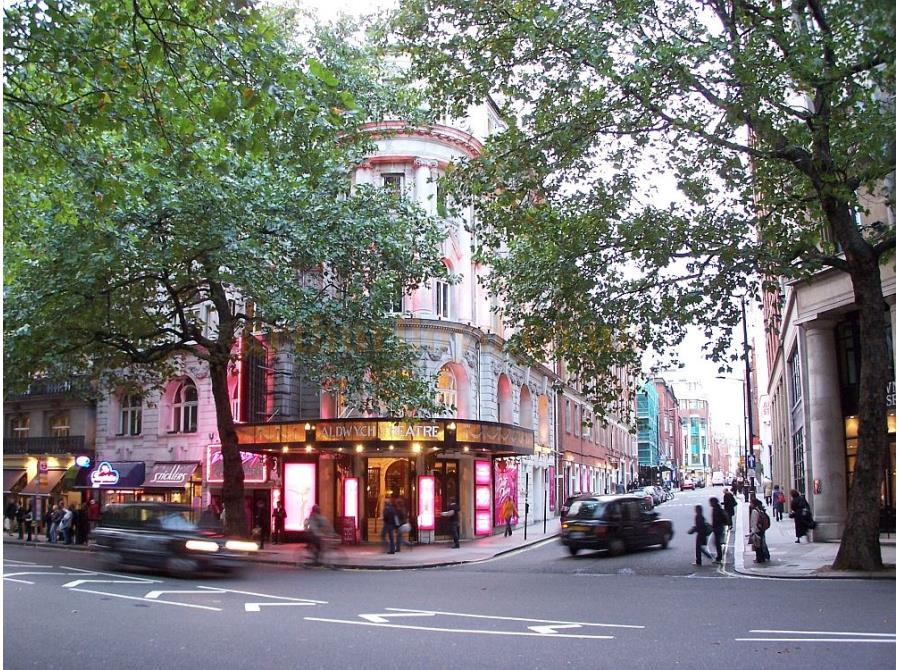 The Aldwych Theatre showing 'Dirty Dancing'