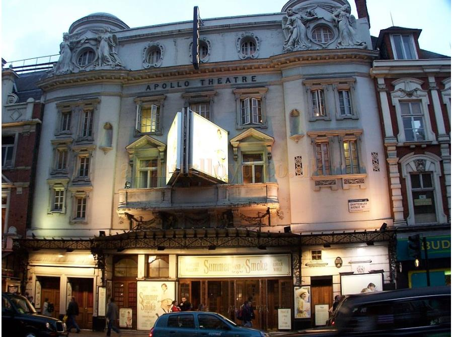 The Apollo Theatre showing 'Summer and Smoke' in 2006.