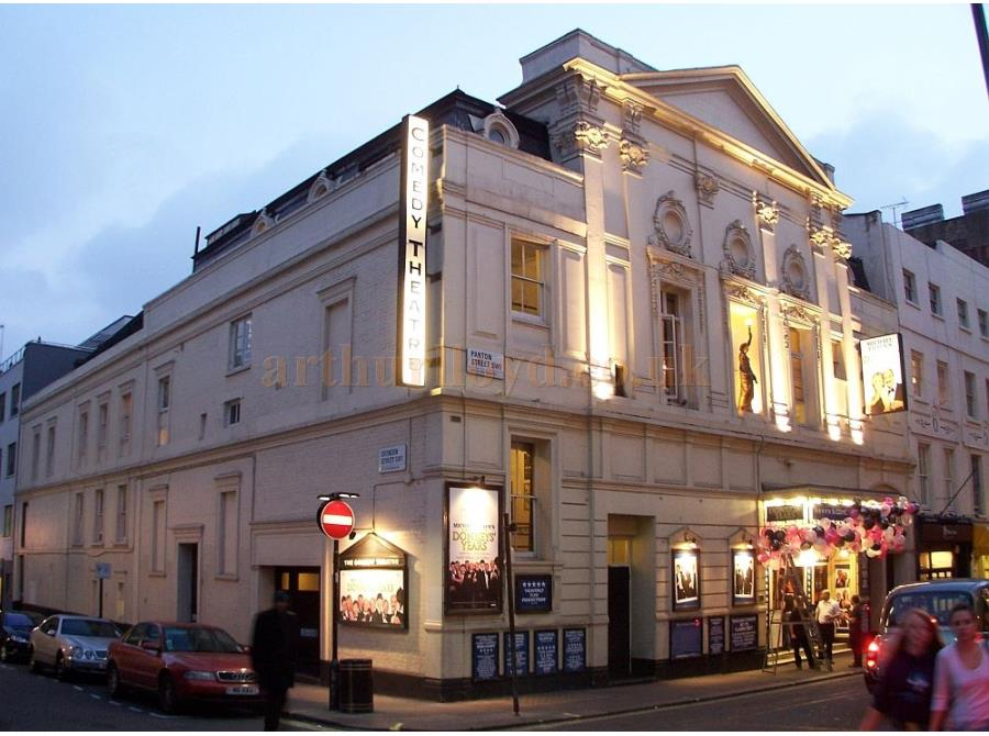 The Comedy Theatre showing 'Donkey's Years' in 2006.