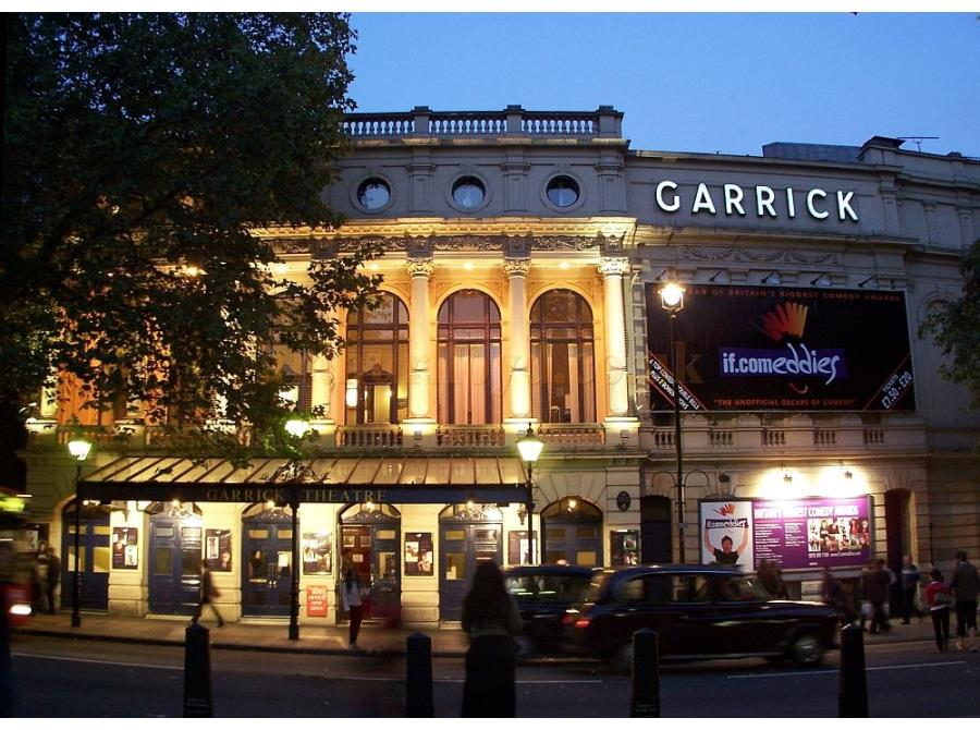 The Garrick Theatre showing 'if.comeddies' in 2006.