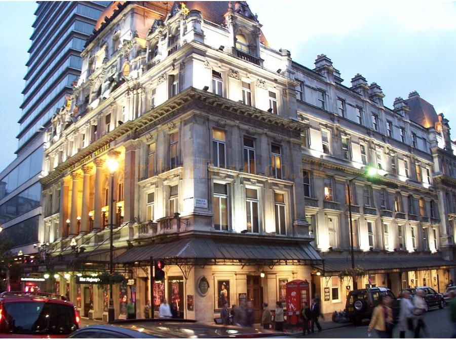 Her Majesty's Theatre showing 'The Phantom of the Opera' in 2006.