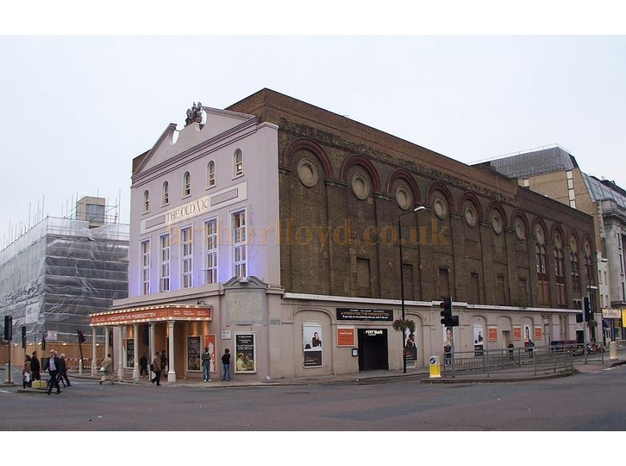 The Old Vic Theatre showing 'A Moon for the Misbegotten' in 2006.