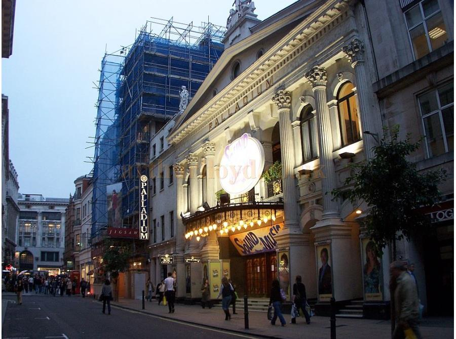 The London Palladium showing 'The Sound of Music' in 2006.