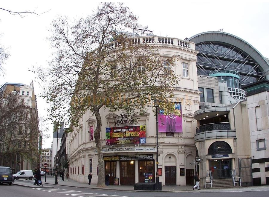 The Playhouse Theatre showing 'Dancing in the Streets' in 2006.