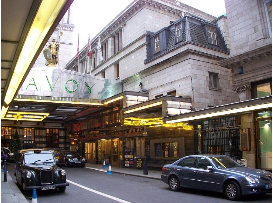 The Savoy Theatre showing 'Porgy and Bess' in 2006.